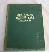 Portraits and Biographies of Australians in the Great War. AUSTRALIA'S FIGHTING SONS OF THE EMPIRE.  Published by c.1919 (1919)