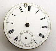 1800s Antique  Mechanical Pocket Watch Movement for Parts