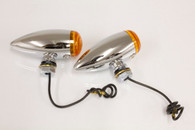 Mini Chrome Bullet Turn Signals