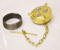 Brass Gas Cap and Weld in Bung Kit