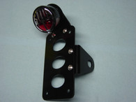 """STOP"" Side Mount Tail Light License Plate Bracket"