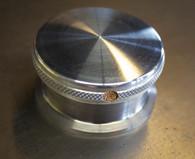 Weld in Gas or Oil Cap Steel bung and Aluminum Cap - Vented -  Made In the U.S.A.