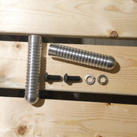 Aluminum Ribbed Foot Pegs