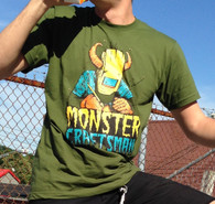 Monstercraftsman T-Shirt Green Eggs and Spam