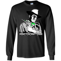 Monstercraftsman Wayne RayGun T-Shirt Long Sleeve