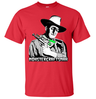 Monstercraftsman Wayne RayGun T-Shirt