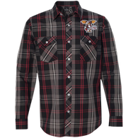 Monstercraftsman Shizmo Plaid Flannel Shirt