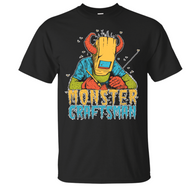 Monstercraftsman Green Eggs and Spam FULL COLOR  T-Shirt