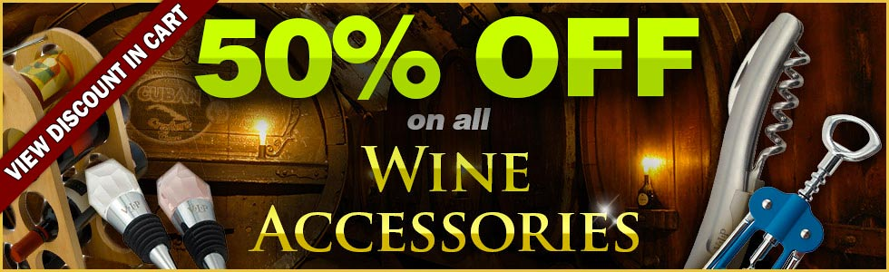 Wine Accessories Sale Banner