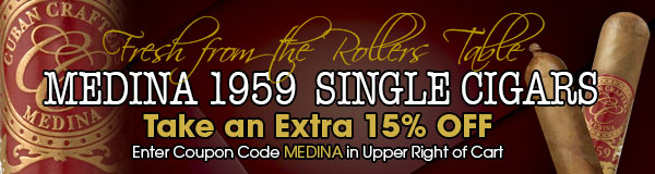 Miami Cigars Medina 1959 Singles on Sale