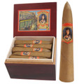 CIGAR SALE - LA CAROLINA 25 CAMPANA CIGARS IN A CEDAR BOX - 5 1/2 x 56