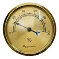Cigar Hygrometers for Cigar Humidors - Large Analog Hygrometer