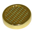 CIGAR HUMIDIFIER FOR HUMIDORS - SMALL ROUND HUMIDIFIERS - GOLD TONE
