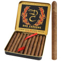 Don Carbone Cognac Flavor Cigar Cuban-Seed Handmade 3 1/4 X 26 Tin of 10