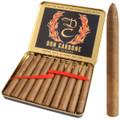 World's First Mini Torpedo Cigar Don Carbone Cuban-Seed Handmade 4 X 30 Tin of 10