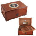 White House Humidor American Emblems Limited Editon - Free Shipping