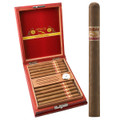 LONSDALE CIGARS - CUBANO CLARO LONSDALES - 6 1/4 INCHES X 38 RING GAUGE - VINTAGE CEDAR HUMIDOR BOX OF 20