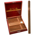 CUBANO CLARO LANCERO - 7 1/4 INCHES X 35 RING GAUGE - VINTAGE CEDAR HUMIDOR BOX OF 20