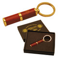 PUNCH CIGAR CUTTERS - ALL STAINLESS STEEL BLADE CUTTER WITH ROSEWOOD COVERED BODY - SOANDLID  LIFETIME GUARANTEED