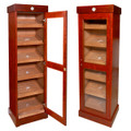 Cuban Crafters Vitrina Cabinet Cigar Humidor for 3000 Cigars - Free Shipping
