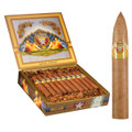 Hand Made Cigar Drew Estate La Vieja Habana Belicoso D Connecticut 6 X 54 Box of 20 Cigars