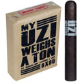 UZI CIGAR - MY UZI WEIGHS A TON TORO - 6 X 60 - PACKAGE OF 10 CIGARS