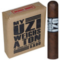 Uzi My Uzi Weighs A Ton Robusto 5 X 60 Package of 10 Cigars