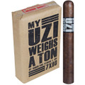 Uzi My Uzi Weighs a ton Churchill 7 X 60 Package of 10 Cigars