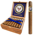 Military Gifts Navy Gift Salute To Arms Cigars 25 Churchill Premium Cigar in a Cedar Box