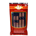 FEDORA CIGARS SAMPLER - OSCURO - MEDIUM TO FULL BODIED - 4 PACK IN HUMIDOR BAG