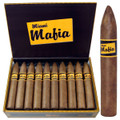 MIAMI MAFIA POWER TORPEDO CIGARS - MILD - 6 X 60 - CUBAN STYLE BOX OF 20
