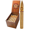 LA CAYA CABINET SELECTION TORPEDO CIGARS - VINTAGE MILD CONNECTICUT SHADE-GROWN - 6 1/2 X 52 - BOX OF 25