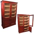 Cigar Cabinet Humidor Vitrina Doble Rosewood Cabinet Humidors for 6000 cigars - Free Shipping