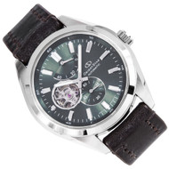 Orient Star Semi Skeleton 24 Jewels Automatic Mens Watch DK02002F