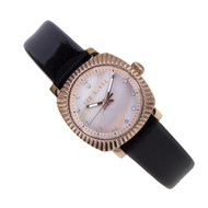 Ted Baker Wanoa Womens Pearl Dial Black Dress Quartz Watch TE2120