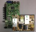 Seiki 34H0386A/CVB39001 Main Board / Power Supply for SE39FT11 Version 1
