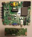 Sanyo 02-SHS39B-C008000 Main Board/Power Supply & Vizio/Sanyo/Hitachi 6871L-3210F (6870C-0438A) T-Con Board