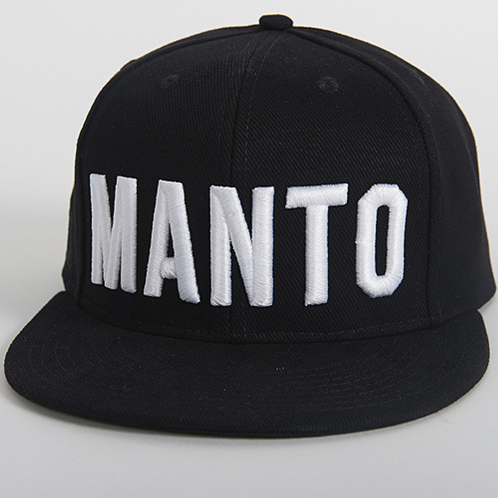 "MANTO ""EAZY"" CAP Black"