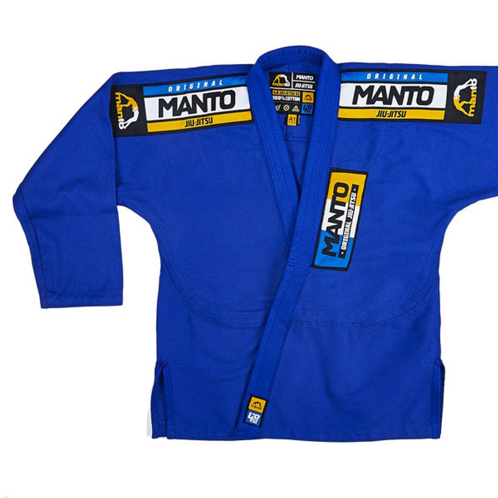 """MANTO """"4.0"""" CLASSIC BJJ GI Blue - ON SALE!!!"""