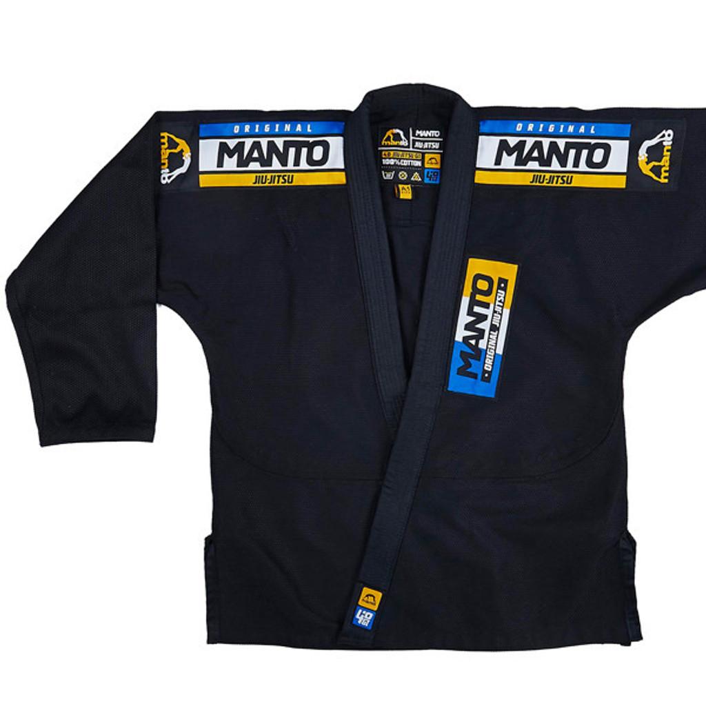 "MANTO ""4.0"" CLASSIC BJJ GI Black- ON SALE!!!"