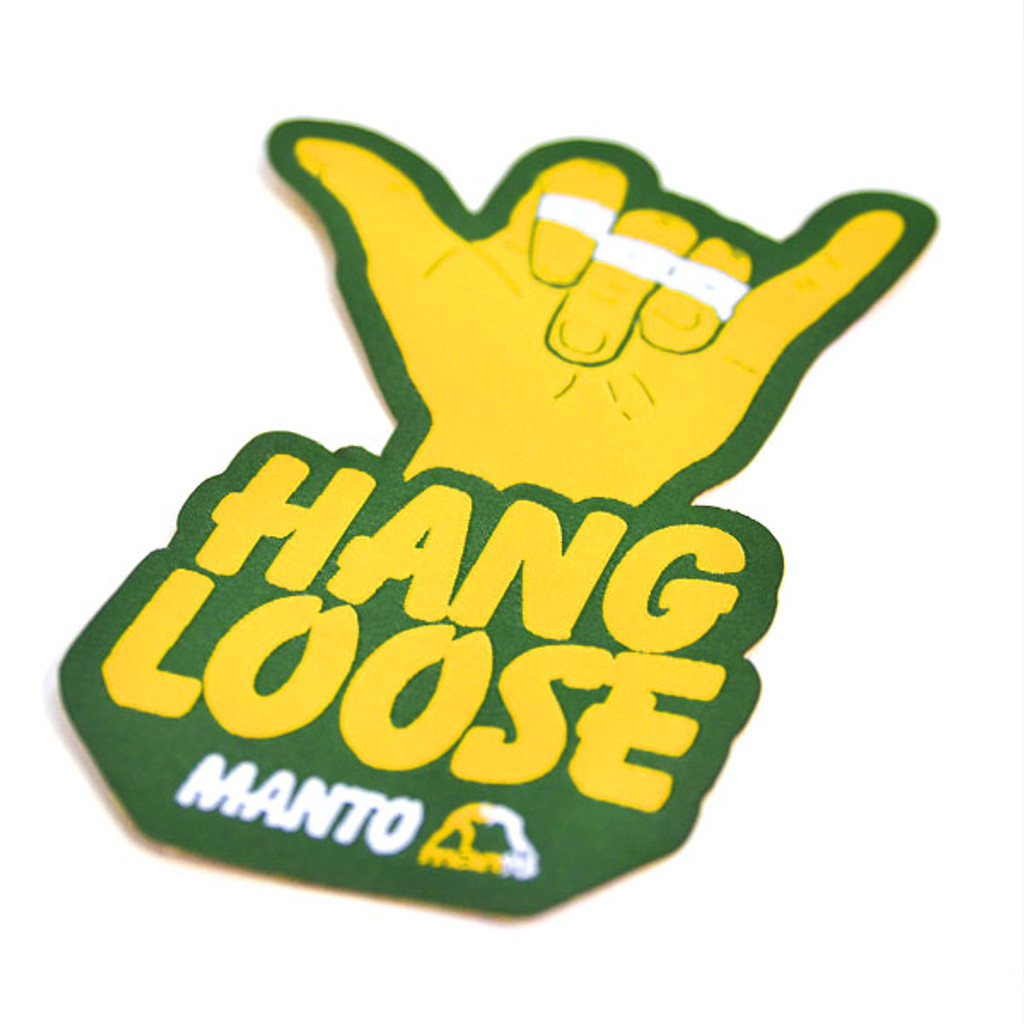 "MANTO ""HANGLOOSE"" GI Patch"