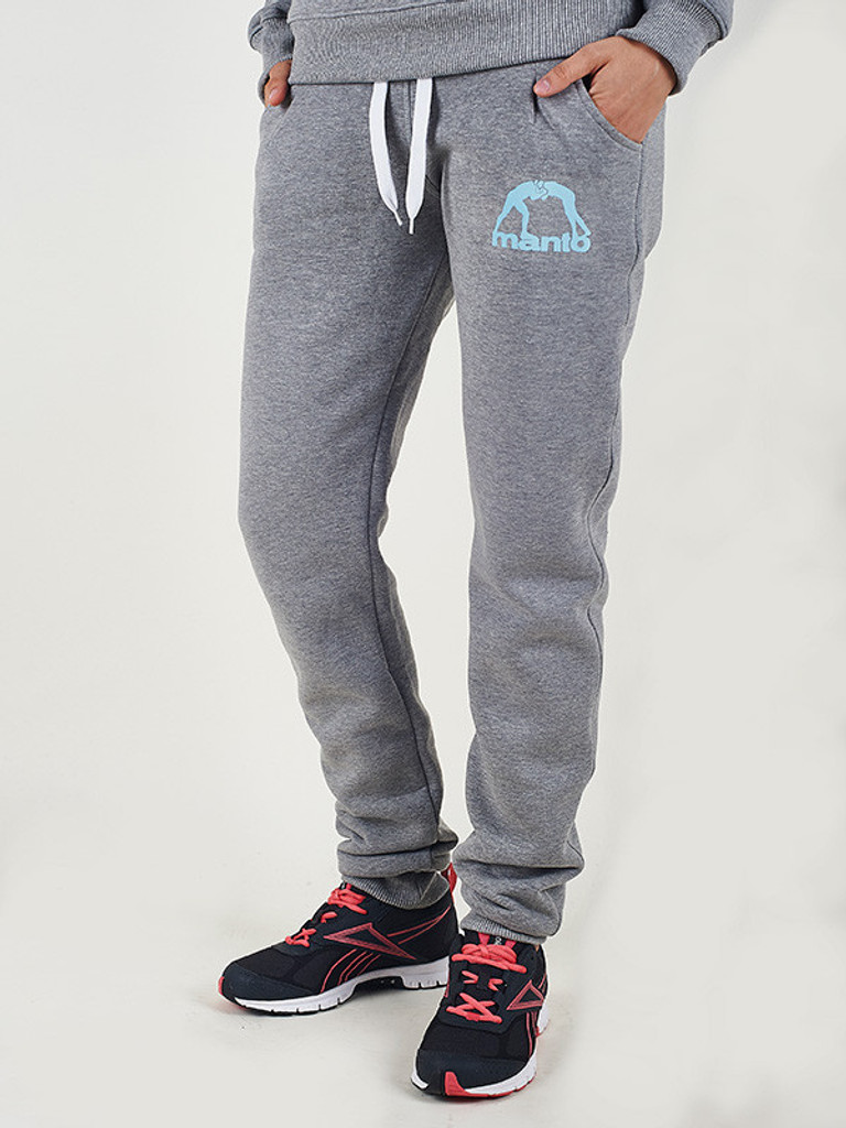 "MANTO ""ANGIE Sweatpants Grey"