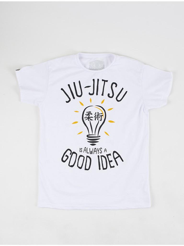 "MANTO ""GOOD IDEA"" T-SHIRT White"