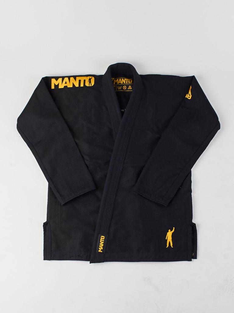 "MANTO ""VICTORY"" BJJ GI Black"