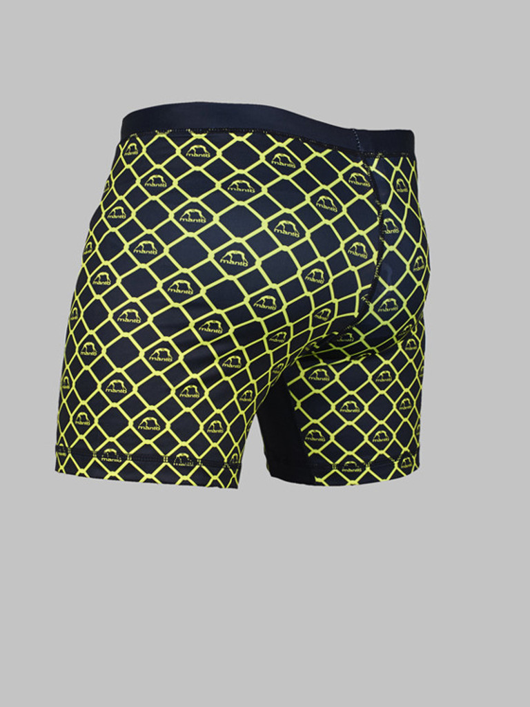 "MANTO ""CAGE"" COMPRESSION VT SHORTS Black"