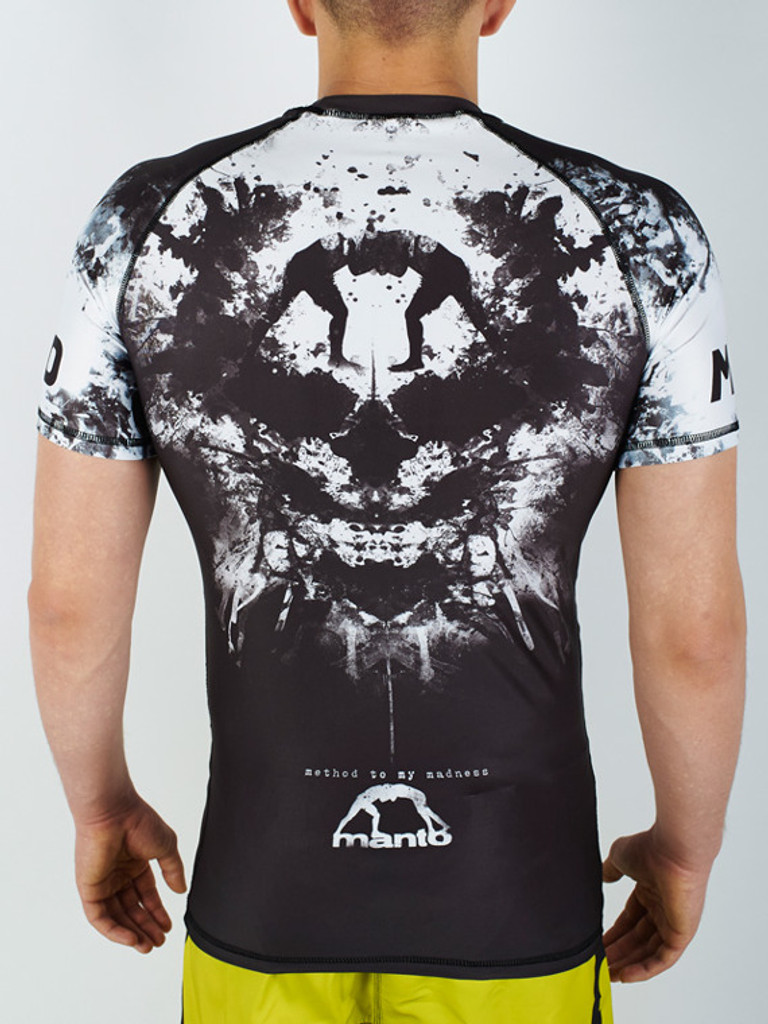 "MANTO ""MADNESS"" RASHGUARD Black"