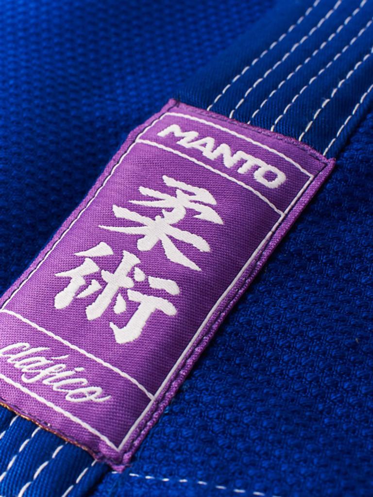 "MANTO ""CLASICO v2"" BJJ GI Blue"