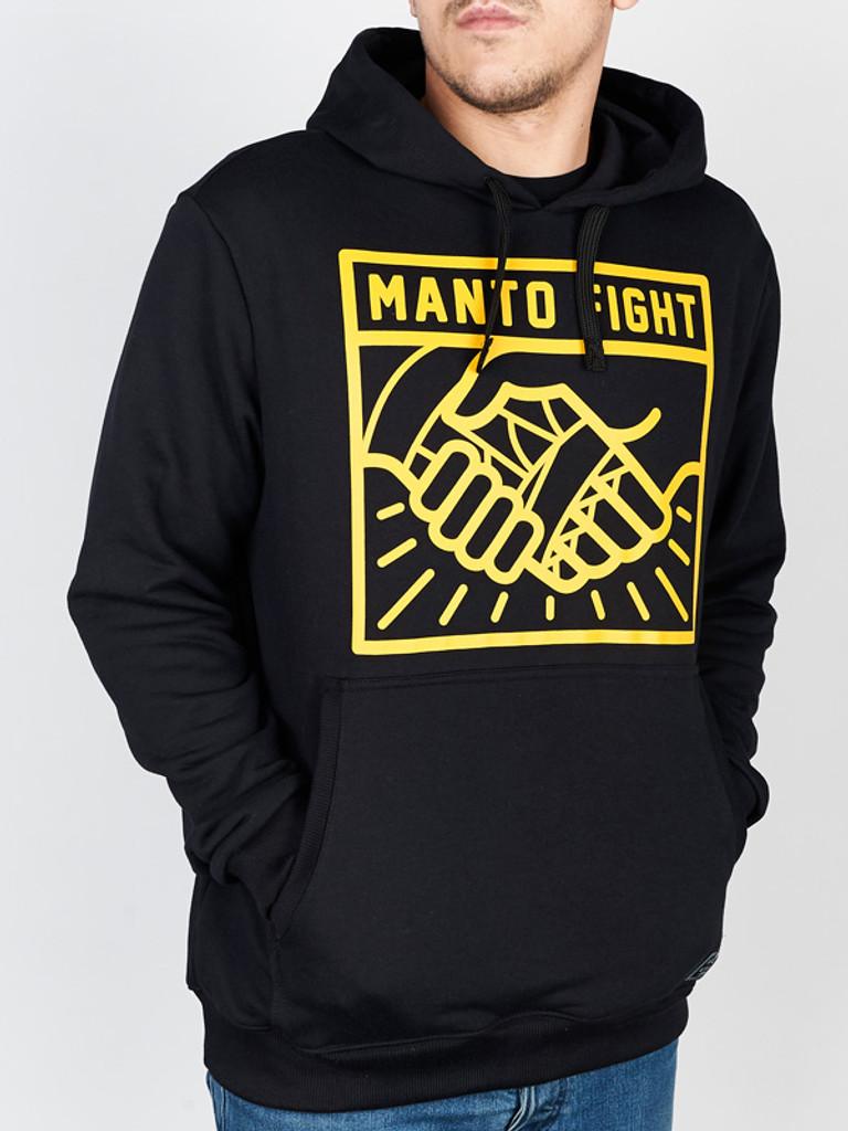 """MANTO """"HANDS"""" HOODIE Black"""
