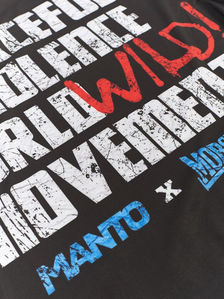 """MANTO """"MOB"""" RASHGUARD Short Slv"""
