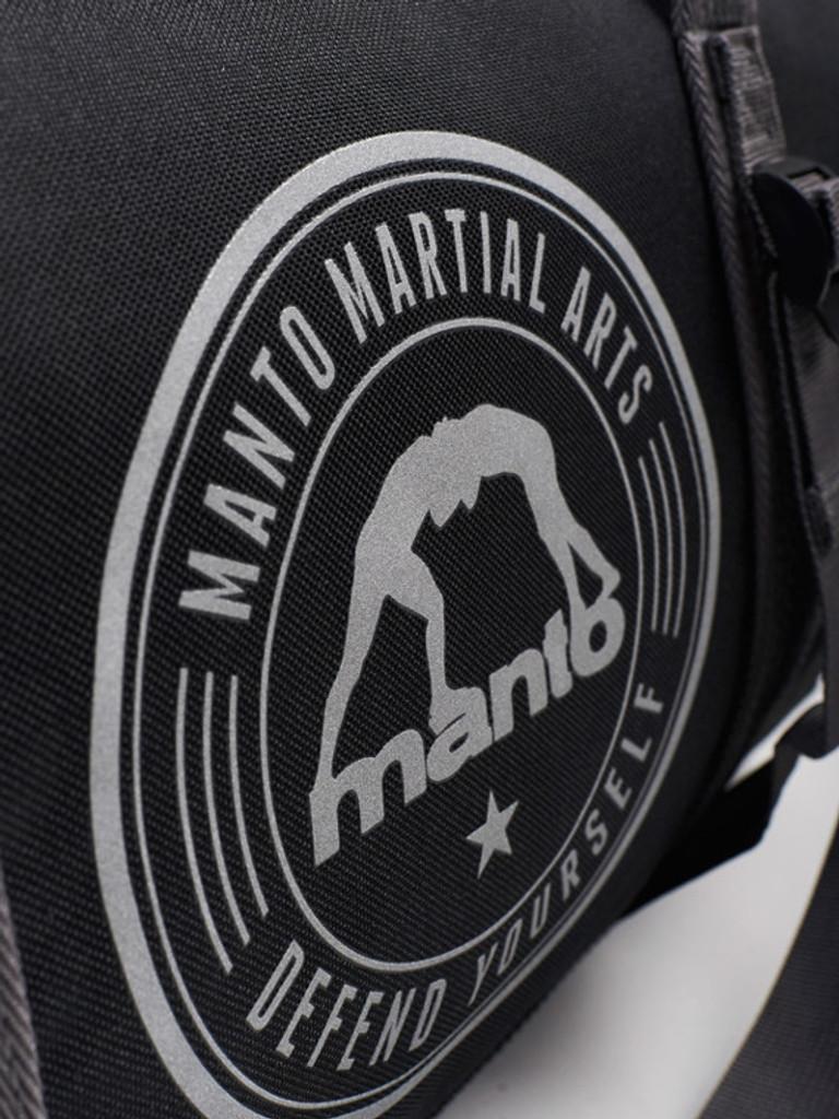 "MANTO ""COMPACT"" Dufflebag Black"